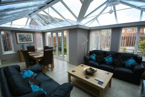 Aluminium or uPVC Conservatories